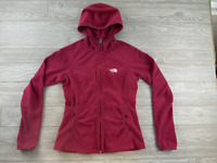 THE NORTH FACE Size Small Women's  Pink Full Zip Fleece Long Sleeve Jacket