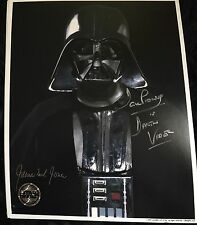 DAVE PROWSE & JAMES EARL JONES AUTOGRAPH SIGNED 8x10 PHOTO STAR WARS
