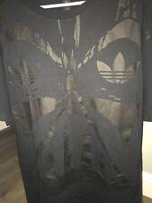 Star Wars Adidas Black Darth Vader T-Shirt Size 2XL Short Sleeve