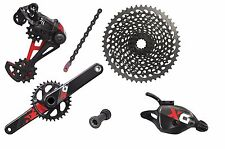 Groupe SRAM X01 EAGLE RED GXP Press Fit DÉCLENCHEURS 175mm 10-50 1x12 Vitesse'