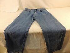 Calvin Klein Easy Fit Jeans Men's 36 100% Cotton RN 36009 Medium Wash 50477