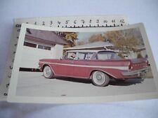 original Foto amerikanischer Strassenkreuzer Marke Hersteller ?