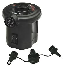 Intex Quick-Fill Air Electric Pump Portable Travel Battery Inflation Beds Floats