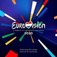 Eurovision 2020 - A Tribute To The Artists And Songs (Various Artists) 2 CD Set