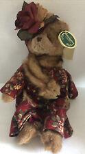 "2005 Bearington Bears Vivian Foxworth 14"" Posable Plush Bear- #1597"