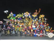 Marvel Avengers 4 Infinity War Spider Man Thanos Custom Fit Lego Mini figure toy