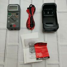 Blue Point Eedm501b Digital Multimeter With New Leads Snap On Euc