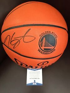 Kevin Durant Signed Golden State Warriors Logo Autograph NBA Basketball BAS COA