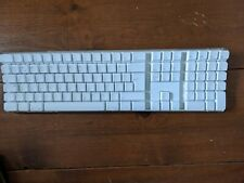 White Extended Apple Wireless Keyboard A1016 Bluetooth