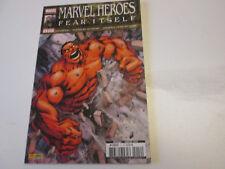 MARVEL HEROES  12  FEAR ITSELF . Marvel panini 2012..NEUF