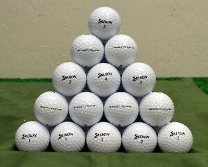 48 Srixon Soft Feel 5A White Golf Balls