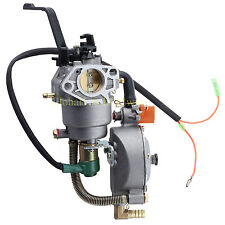 Dual Fuel Generator gasoline carburetor Carb For HONDA GX390 188F 5KW Water Pump