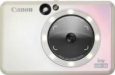 Canon IVY CLIQ+2 Instant Camera Printer, Smartphone Printer, Iridescent White