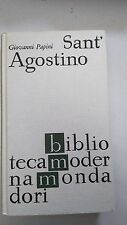 SANT'AGOSTINO, Giovanni Papini, Biblioteca Moderna Mondadori BMM #798, 1964