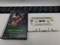 Rare Batman Forever Cassette Motion Picture Soundtrack Audio Tape C-108915 C19-6