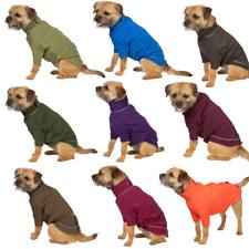 More details for rydale micro fleece dog jumper pet puppy dog coat clothes warm jumper 9 colours