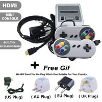 HDMI AV Mini Retro TV Game Console Built-in 621 Classic Games Player+ 2 Gamepads