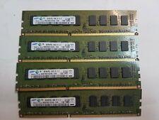 4x4GB 16GB DDR3 Unbuffered PC3L-10600E Memory RAM Upgrade Dell PowerEdge R220