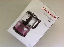 New in Box KitchenAid 3.5 Cup Mini Food Processor Chopper Plum Boysenberry