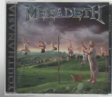 MEGADETH YOUTHANASIA  CD F.C.  CAPITOL PRINTED IN ITALY