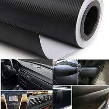 Black 15''x39'' Vents Vinyl Wrap Sticker Decorative Carbon Fiber Texture Decal