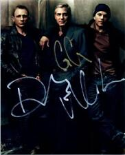 George Clooney Daniel Craig Matt Damon Signed 8x10 Photo autographed + COA