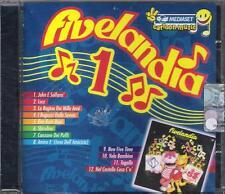 """RARO CD FUORI CATALOGO CELOPHANATO """" FIVELANDIA 1 """" CRISTINA D'AVENA"""
