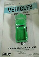Boley Mini Die Cast with Plastic Green Pick up Truck, New in Package