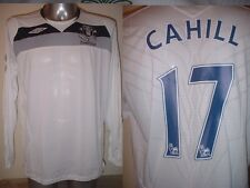 Everton CAHILL New BNWOT L/S Adult Large Umbro Shirt Jersey Football Soccer Top