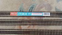 PECO SL-100 Nickel Flexitrack Streamline Code 100 Wooden sleeper Flexible SL100