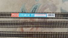 More details for peco sl-100 nickel flexitrack streamline code 100 wooden sleeper flexible sl100