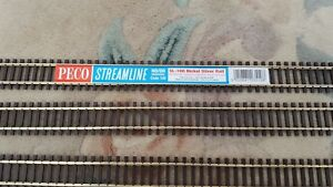 PECO SL-100 Nickel Flexitrack Streamline Code 100 Wooden sleeper Flexible SL100
