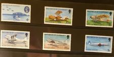 Guernsey Aircraft & Aviation Stamps Lot of 8 - MNH - See Details for List