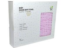 iBest Baby Baby Gauze Bath Towel ( Multiple Colours Available)