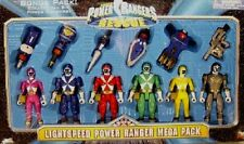 "Power Rangers Lightspeed Rescue 5"" Red Blue Yellow Pink Titanium Green New 1999"