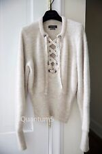 "Isabel Marant ""Charlie"" sweater jumper lace up size FR38"