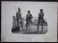1845c Parais Madras litografia H.R. Schinz Honegger dalit Chennai சென்னை India