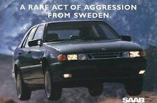 1994 Saab 9000 Aero ORIGINAL Large Factory Postcard my1946