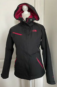 THE NORTH FACE Hyvent 2-in 1 Hooded Jacket Black/Pink Women's XS