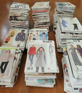 Huge Butterick / Simplicity Sewing Pattern Selection