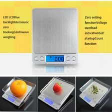 0.01g-500g Electronic Digital LCD Weighing Scales Food Jewelery Kitchen Cooking