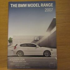 BMW 1 3 5 M5 Touring 6 M6 Coupe Cabrio 7 SERIE X3 X5 Z4 OPUSCOLO 2007