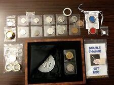 Professional Close-up Coin Magic Trick Starter Set Kit