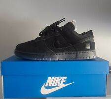 """Nike X Undefeated Dunk Low """"5 ON IT"""" Dunk Vs AF1 Black Size UK 8.5. In Hand"""