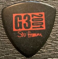 STU HAMM / G3 2001 TOUR GUITAR PICK