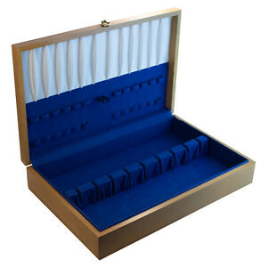 Silverware Storage Chest Wooden Tarnish Resistant SELECT FLATWARE