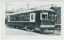 1930s Dayton & Xenia Railway #164 Streetcar Trolley Ohio OH Electric Traction
