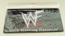 WORLD WRESTING FEDERATION -  WWF - WWE - ECW - Attitude Era License Plate New