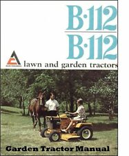 Allis Chalmers B112 Simplicity 3012 Operations Parts & Implement Tractor Manuals