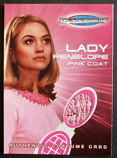 THUNDERBIRDS THE MOVIE COSTUME CARD TC2 LADY PENELOPE'S PINK COAT - Cards Inc.